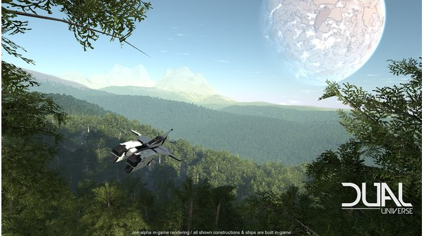 Dual Universe - PreAlpha-Screenshot - Landschaft