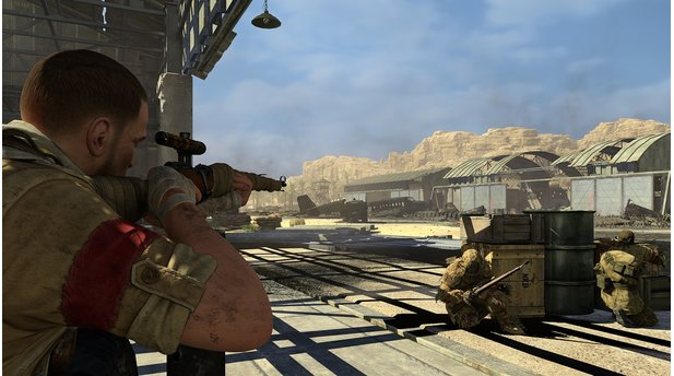 Sniper Elite 3 - Screenshots aus dem Save-Churchill-DLC