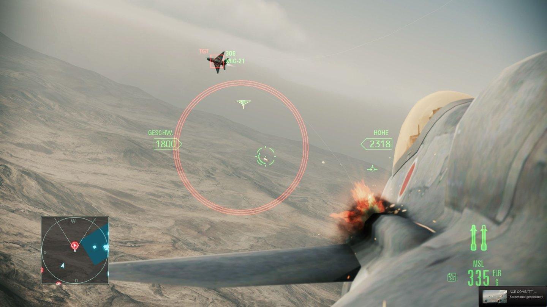 Ace Combat: Assault Horizon - Screenshots der PC-Version