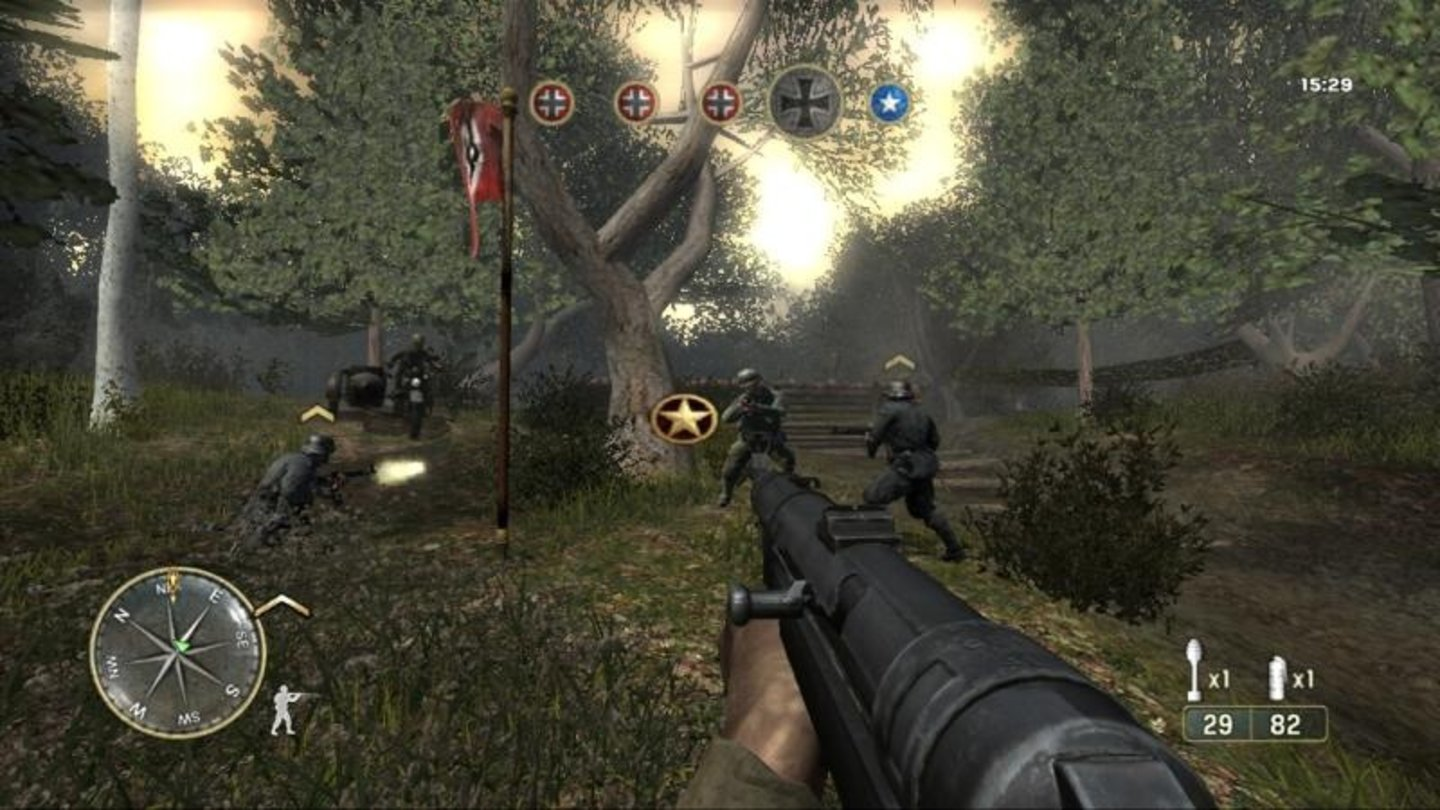 call of duty 3 wii 9