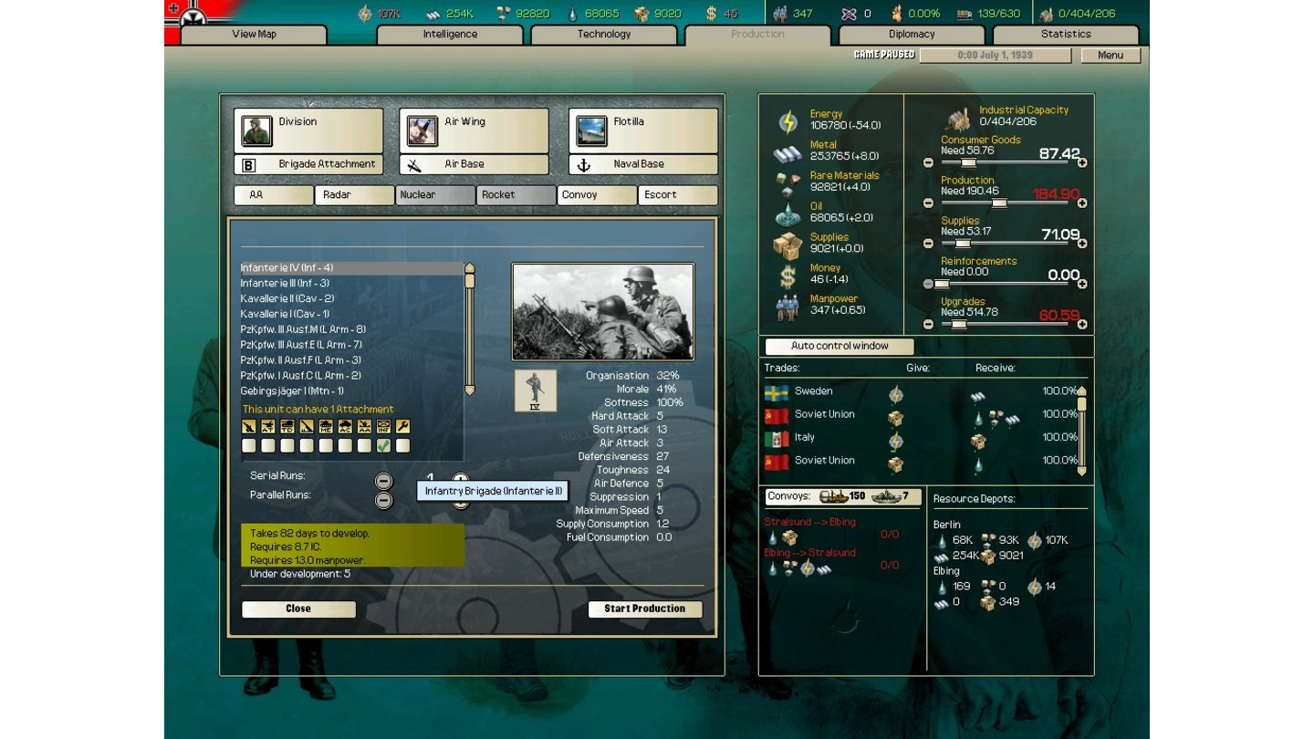 Hearts of Iron 2 Iron Cross