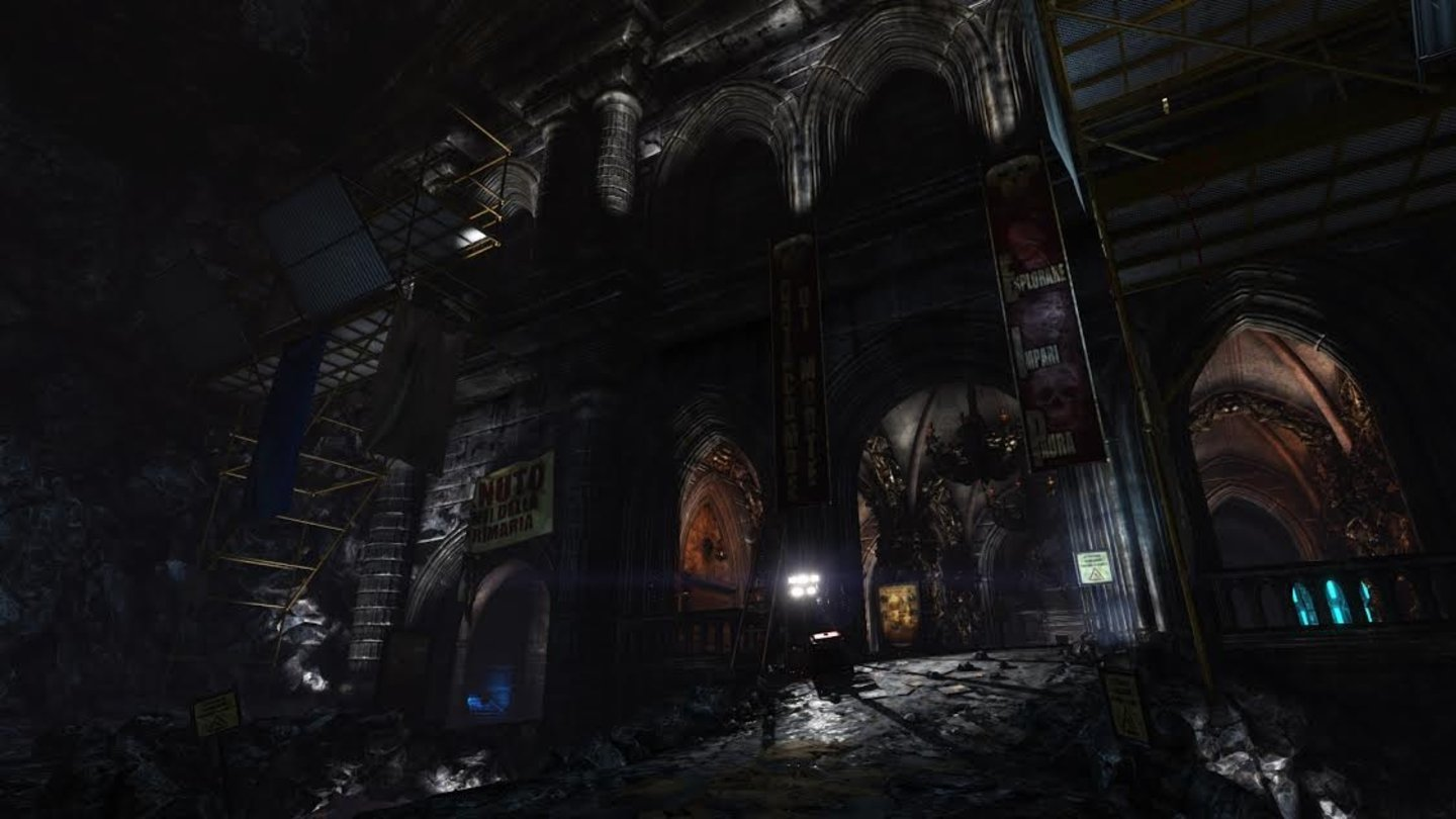 Killing Floor 2Screenshots von der neuen Map »Catacombs«