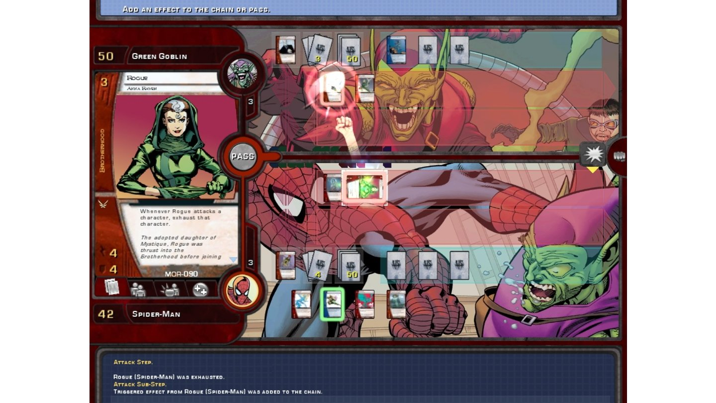 Marvel Trading Card Game 3