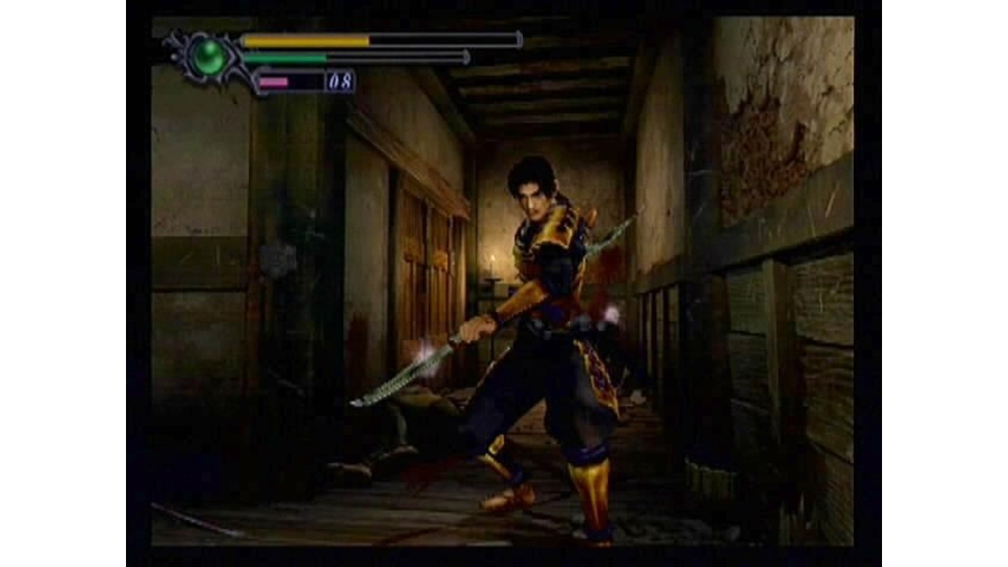 What's the Predator doing here? Samanosuke prepares for the next attack from a villain that can cloak himself.