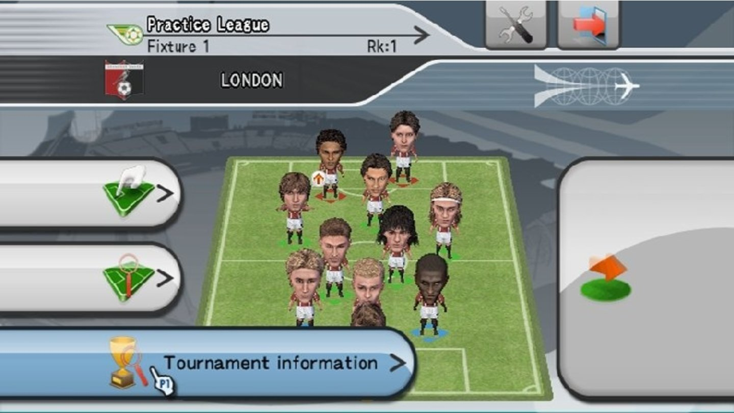 PES 2008 Wii 1