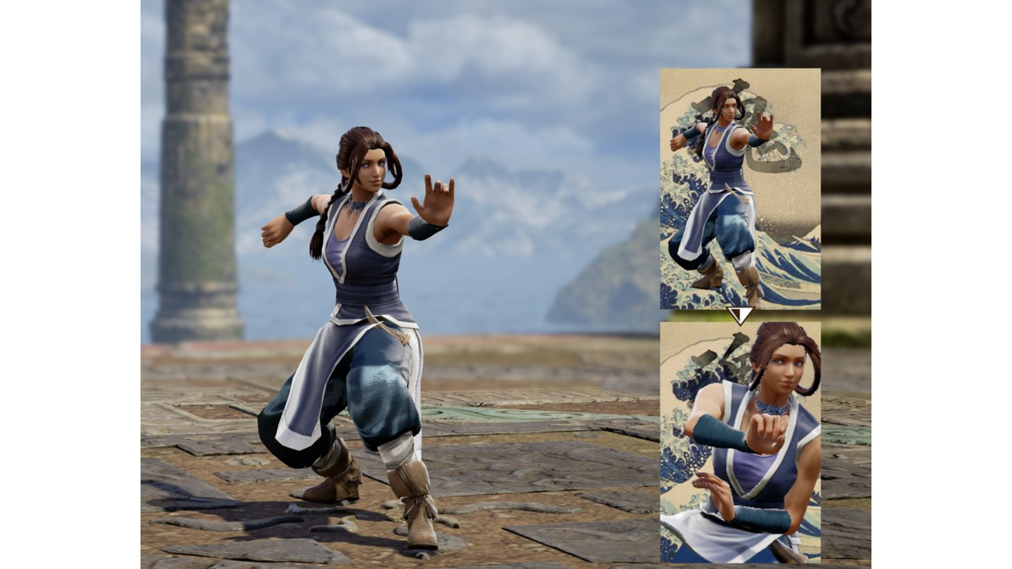 Soul Calibur 6 - Katara von Bald_Lightning