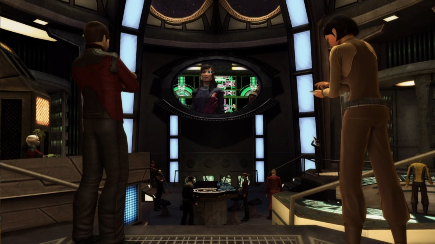 Star Trek OnlineScreenshots zur Season 4: »The 2800« Feature Episoden, die ab dem 11. Februar 2012 in einer Reihe von Quests von der Rückkehr des Dominion erzählen.