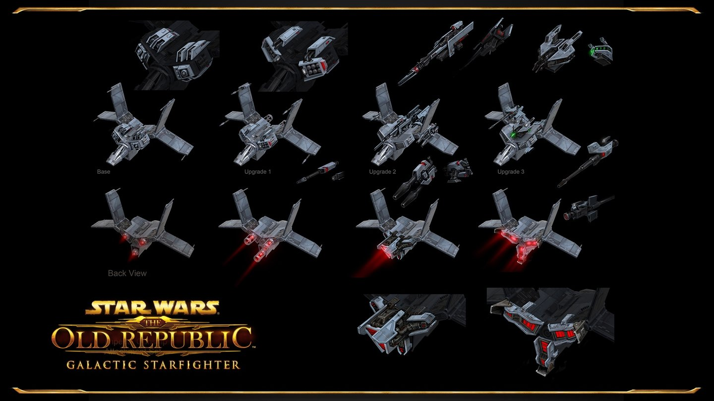 Star Wars: The Old Republic - Artworks zu Galactic Starfighter