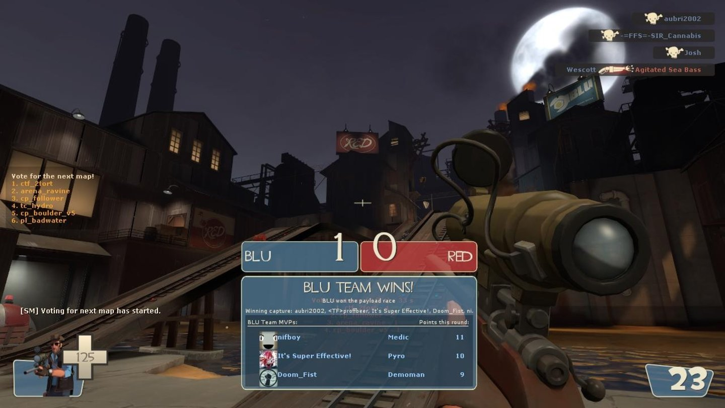 Team Fortress 2 - Sniper vs. Spy-Update