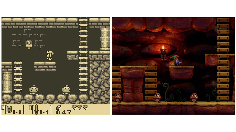 The Legend Of Zelda Link S Awakening Vergleichsbilder