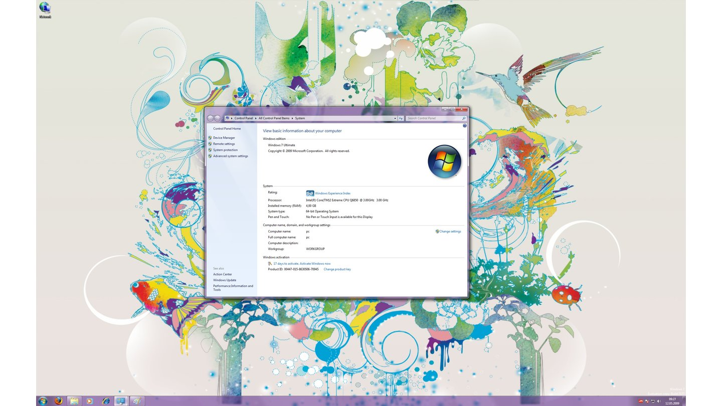 Windows 7-Thema: Scenes