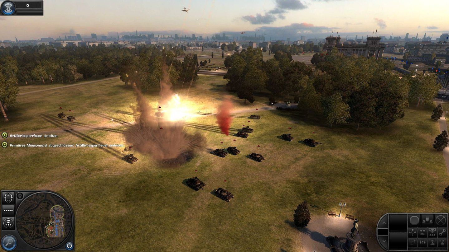 Explosionen in World in Conflict