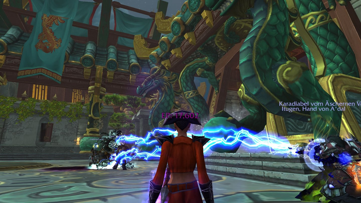 World of Warcraft: Mists of Pandaria - Tempel der Jadeschlange