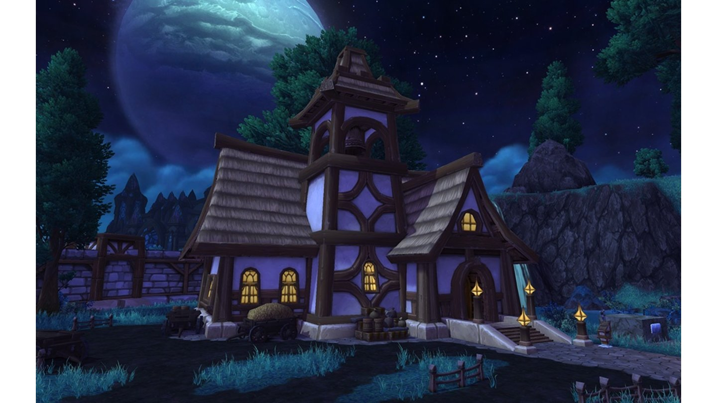 World of Warcraft: Warlords of Draenor - Garnisonsbau