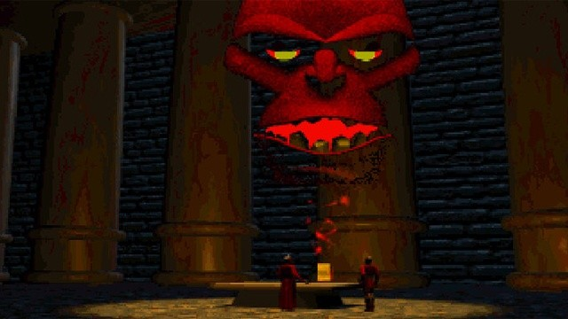 Der Guardian im Intro zu Ultima VII: The Serpent Isle