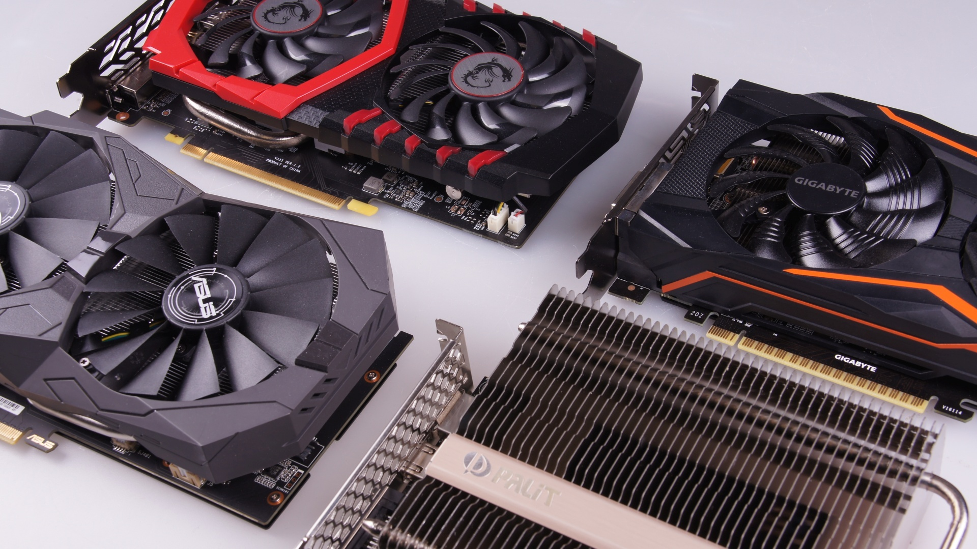 Die Beste Gtx 1050 Ti Welche Ist Schnellste Leiseste Gnstigste Msi Geforce 4gb Ddr5 Oc