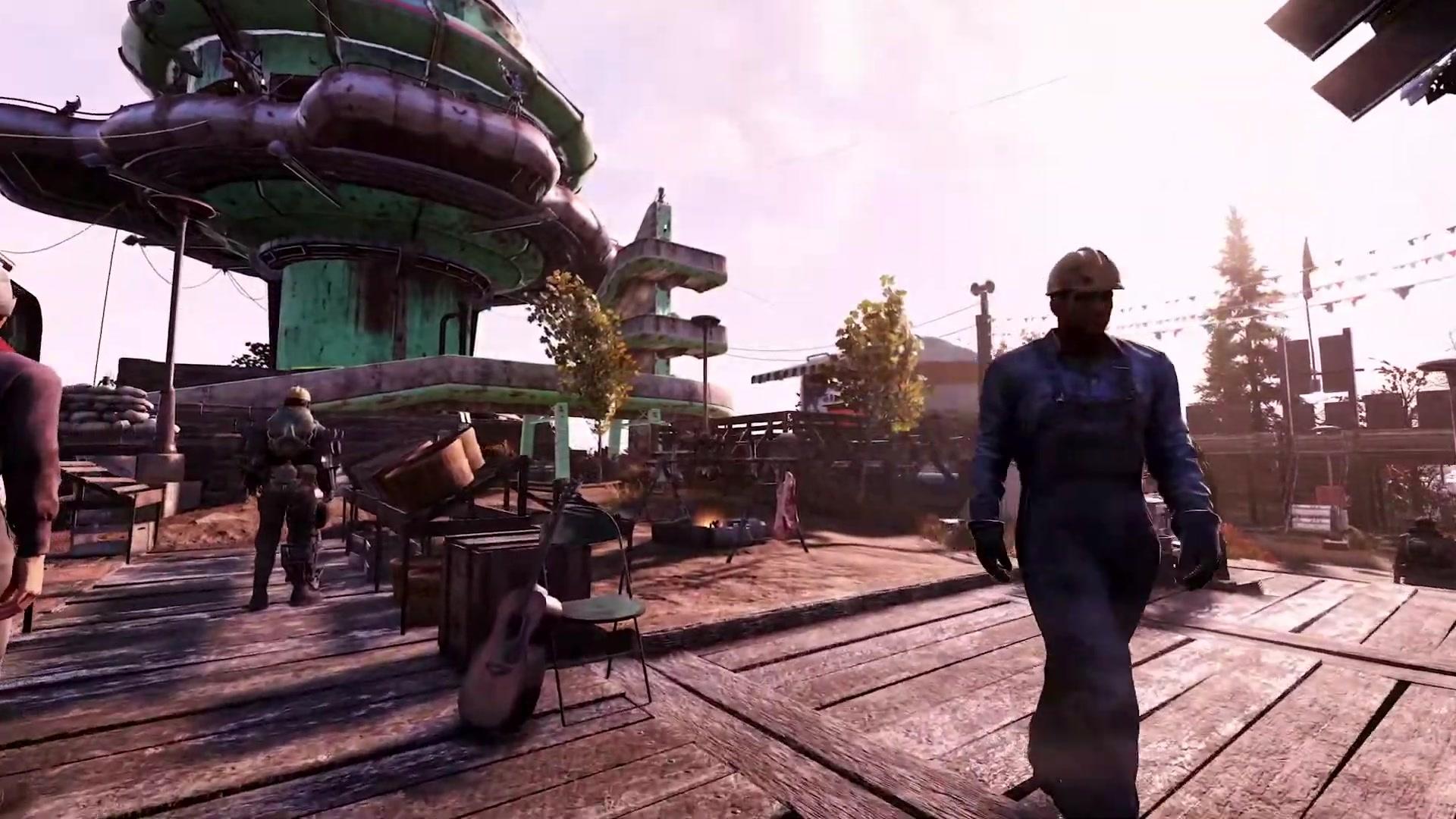 Fallout 76: NPCs, Fraktionen, neue Kreaturen & Waffen im Trailer zum Wastelanders-Update