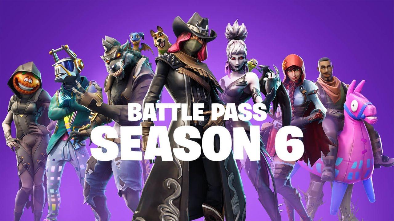 Fortnite Alle Skins Pets Und Unlocks Des Battle Pass Von Season 6