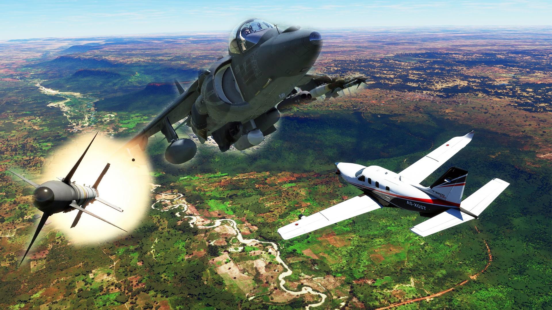 Flight Simulator - Militärische Flugzeuge und Dogfights? Wie Microsoft auf Fan-Wünsche reagiert