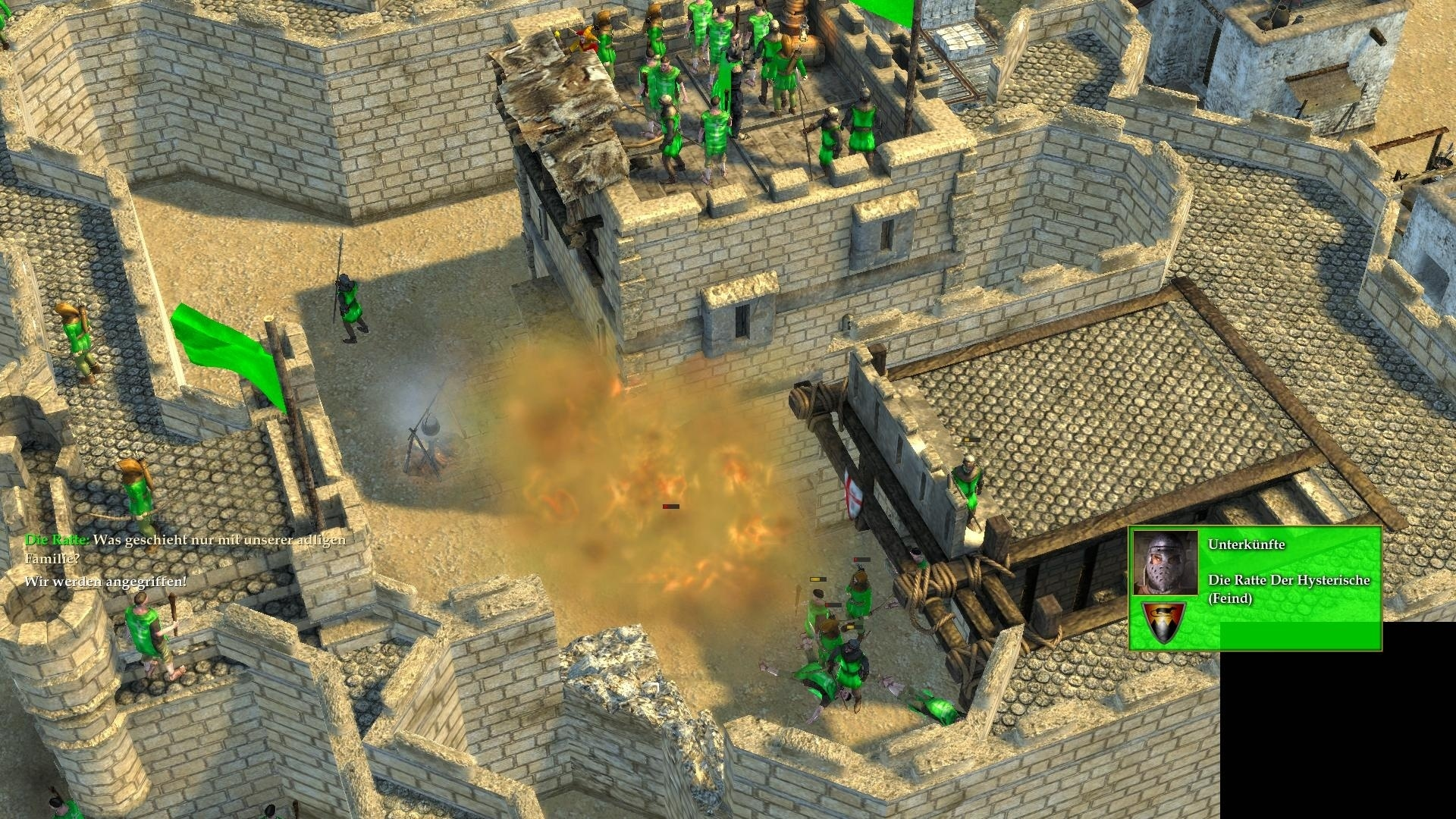 stronghold crusader 2 im test einst rzende altbauten. Black Bedroom Furniture Sets. Home Design Ideas