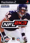Cover zu NFL 2K3 - PlayStation 2
