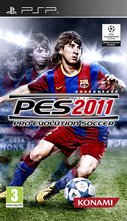 Cover zu Pro Evolution Soccer 2011 - PSP