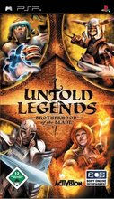 Cover zu Untold Legends: Brotherhood of the Blade - PSP