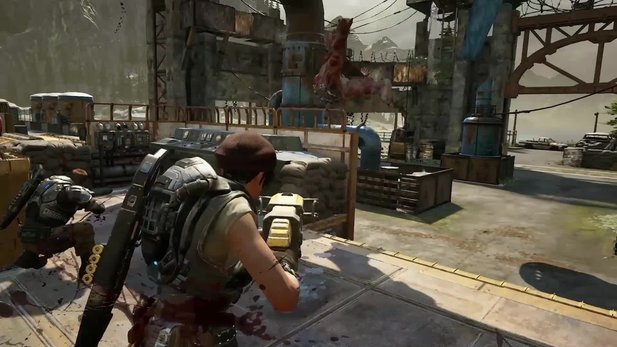 Gears of War 4 - Gameplay-Clip zeigt brutale Exekution
