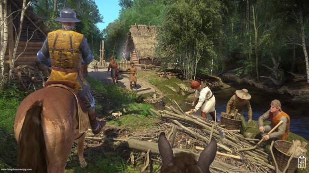 In Kingdom Come: Deliverance - From the Ashes darf man sein eigenes Dorf bauen.