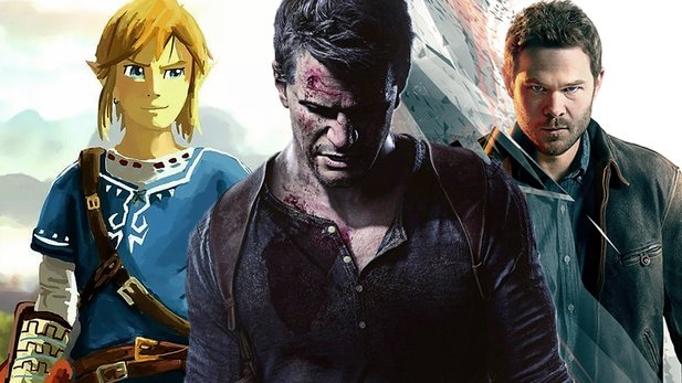 The Legend of Zelda, Uncharted 4 und Quantum Break gehören zu den Highlights des Jahres 2016.
