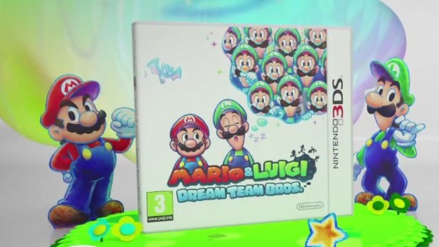 Mario & Luigi: Dream Team Bros. - Gameplay-Trailer