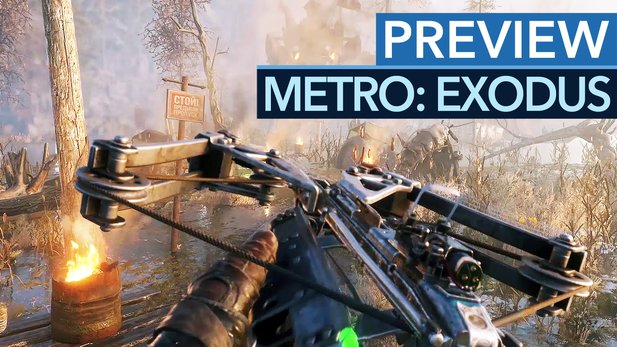 Metro: Exodus - Gameplay-Preview: Gamescom-Demo erinnert ans Beste aus Crysis