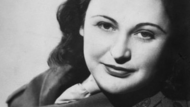 Studioportrait von Nancy Wake, ca. 1945.