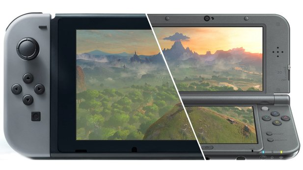 Nintendo Switch vs. 3DS: Verdrängt die Hybrid-Konsole bald den Handheld?