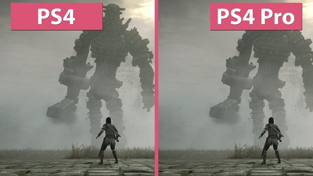 Shadow of the Colossus - PS4 gegen PS4 Pro im Vergleich