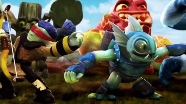 Trailer zu Skylanders Battlegrounds