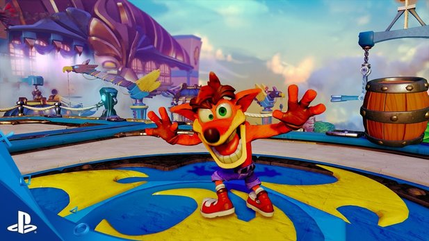 Skylanders Imaginators - E3-Trailer mit Crash Bandicoot