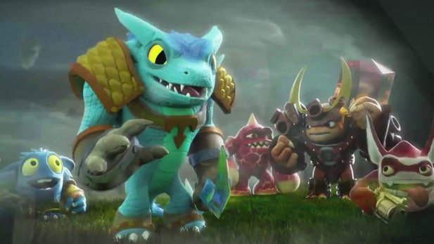 Trailer von Skylanders Trap Team