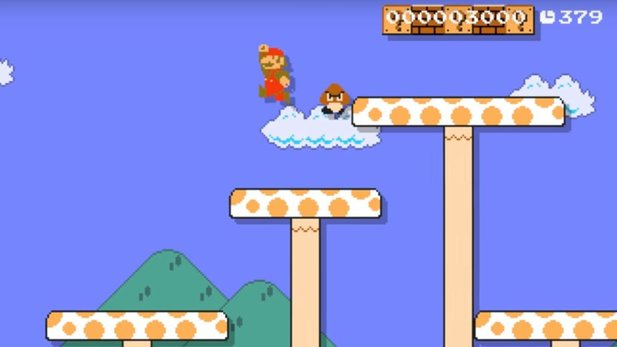 Super Mario Land in Super Mario Maker