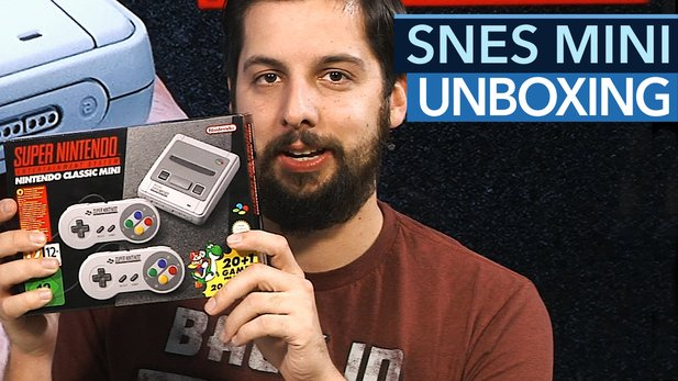 Super Nintendo Classic Mini - Unboxing-Video zum SNES Mini