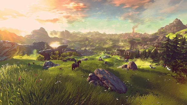 The Legend of Zelda: Breath of the Wild - Gameplay-Trailer zu Zelda für Wii U und NX