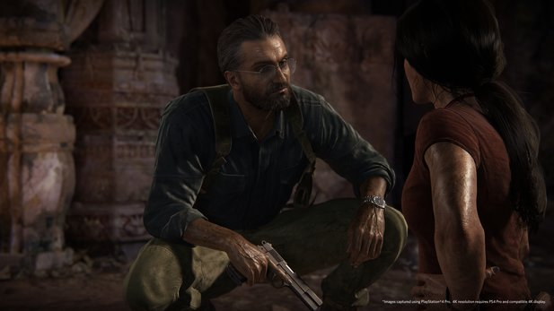 Asav ist der neue Bösewicht in Unchated: The Lost Legacy.