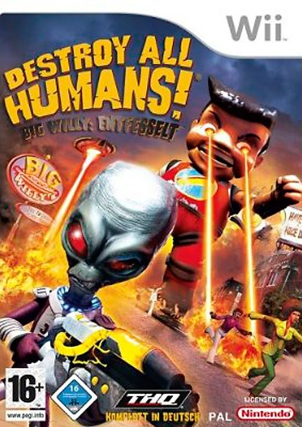 Cover zu Destroy All Humans! Big Willy: Entfesselt