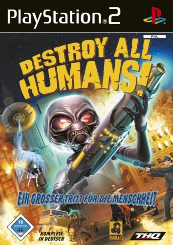 Cover zu Destroy all Humans!
