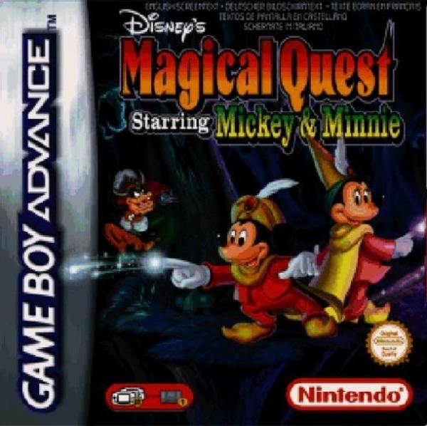 Cover zu Disney's Magical Quest Starring Mickey and Minnie