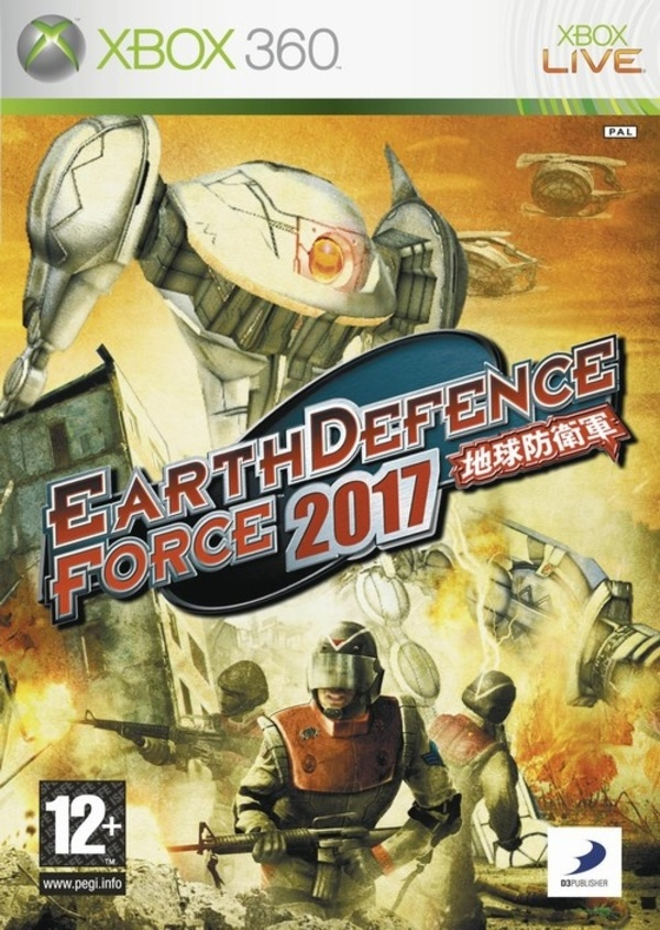 Cover zu Earth Defence Force 2017