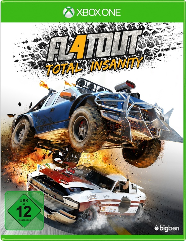 Cover zu Flatout 4: Total Insanity