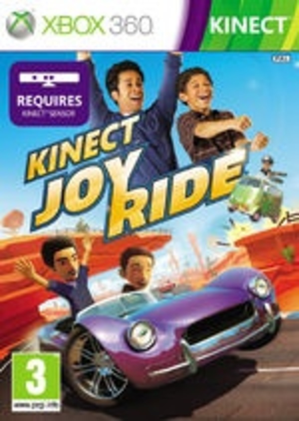 Cover zu Kinect Joy Ride