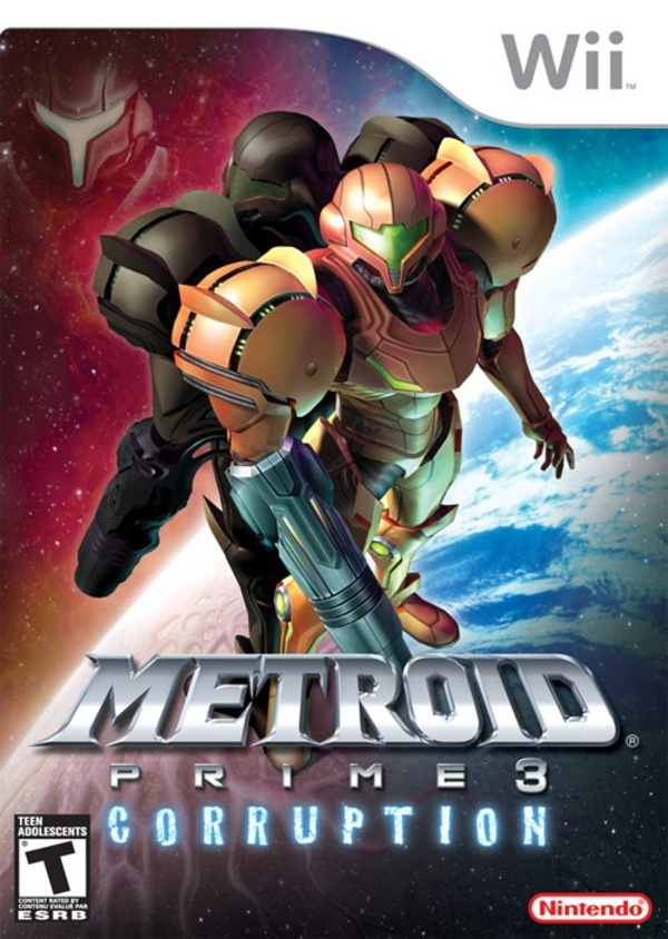Cover zu Metroid Prime 3: Corruption