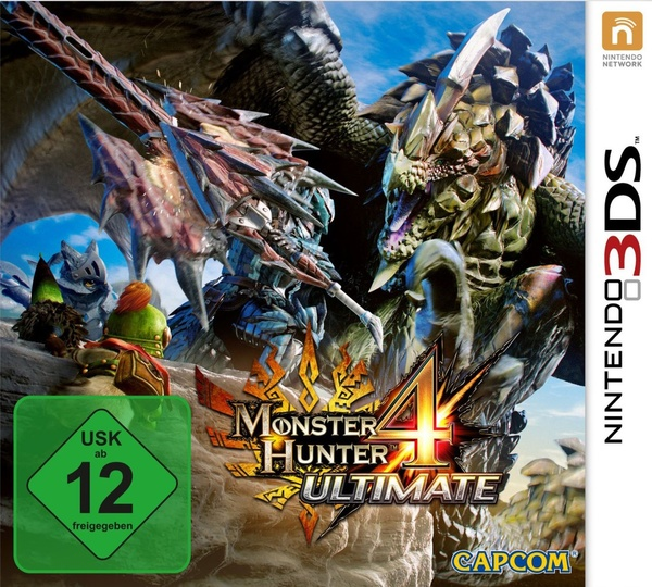 Cover zu Monster Hunter 4 Ultimate